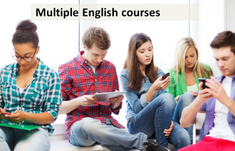 multiple english courses
