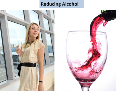 Course reducing alcohol